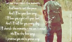 the most perfect song - fall into me by Brantley Gilbert