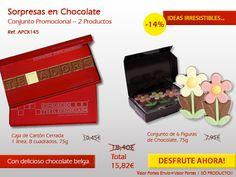 Flores en chocolate y una mensaje en cuadritos de chocolate. ¡No pierda tiempo .... ideas originales en el chocolate! http://www.mysweets4u.com/es/?o=2,5,202,49,3,0
