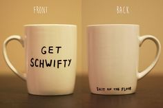 Rick-and-Morty-Inspired Get Schwifty hand-painted mug by mymugshop