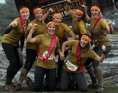 A group of colleagues from the luxury handbag retailer @anyahindmarch recently ran the Tough Mudder in support of UWS, brilliantly raising over £1000.