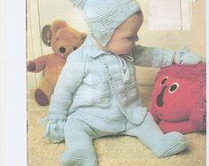 baby knitting pattern pdf baby pram set baby coat por Minihobo