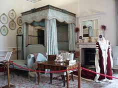 Bedroom at Blair Castle