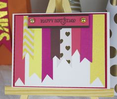 Add a personal touch a child's birthday with this simple DIY gift topper and card.
