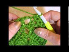 Crochet Butterfly Stitch Prayer Shawl - YouTube