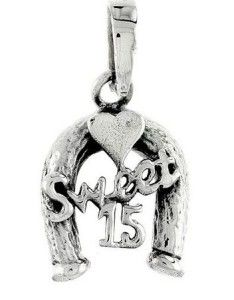 sterling silver horseshoe quinceanera sweet 15 birthday gift http://quinceanerarings.diagplus.net/