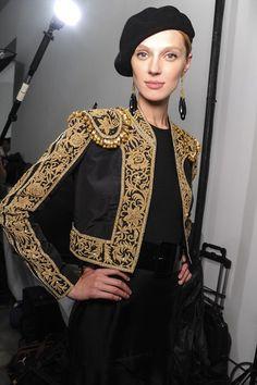 Embroidered Matador Jacket. Adore!