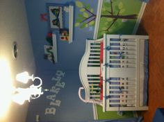 Loved looking at all of the great ideas for Eric Carle's Hungry Caterpillar inspired nurseries. Finally completed my own.