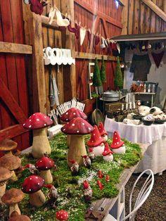 Christmas market in Sweden {mushrooms!} via @Katja Presnal