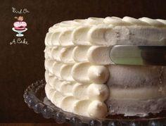 Cake frosting technique with Hummingbird cake recipe Food Cakes, Cupcake Cakes, Fondant Cakes, Smash Cakes, Fondant Figures, Cupcake Ideas, Cake Decorating Tips, Cookie Decorating, Cake Cookies
