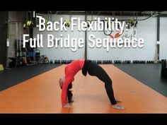 (4) Full Bridge for Spinal Flexibility - YouTube