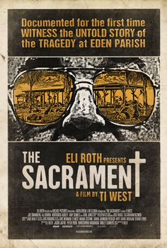 The Sacrament (2014) - poster by Tom Hodge (The Dude Designs)