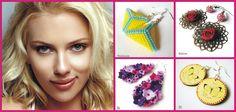 Náušnice k srdcovej tvári akú má napríklad aj Scarlett Johansson. Šperky vyberané z www.sperkysan.sk