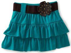 My Michelle Girls 7-16 Tiered Skirt