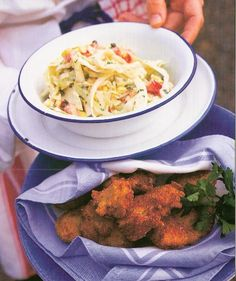 Crispy Oysters With Rémoulade Cabbage And Corn Slaw