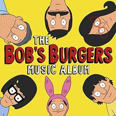 The Bob's Burgers Music Album (3 LP Colored Vinyl Limited Edition Includes Download Card)