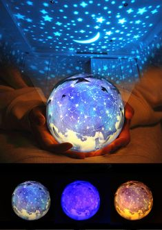 Cute Night Lights, Painted Light Bulbs, Galaxy Lights, Bright Apartment, Projector Lamp, Harajuku Fashion, Creative Gifts, Mafia, Clutter