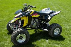 Our New 2013 Suzuki Quadsport LTZ400. What an improvement in performance over our 2007.