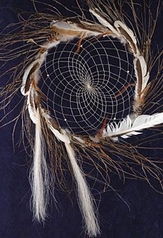 Large Natrual Twig Dream Catcher from Tribal Impressions