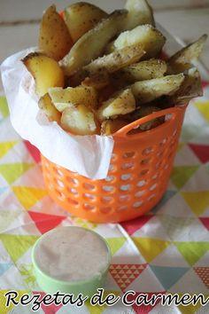 rezetas de carmen: Patatas cajún