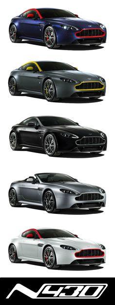 Aston Martin Vantage N430. A life less ordinary. Discover more at http://n430.astonmartin.com/ #AstonMartin - LGMSports.com