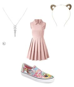 """Untitled #8"" by allykatt33 on Polyvore featuring Tasha, Vans, RED Valentino and Stella & Dot"