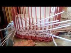 МК веревочки с накидом и переплетом. - YouTube