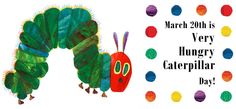 Activities to celebrate Spring with The Very Hungry Caterpillar.