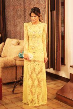 Thassia Naves wearing Patricia Bonaldi. Love this dress!!