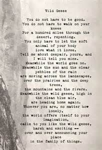 """Wild Geese"" Mary Oliver - Yahoo Image Search Results"