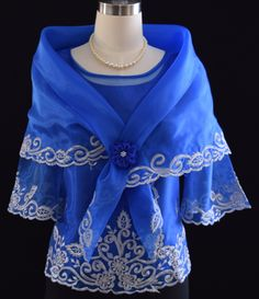 Latest And Trendy Kimonas Embroidered Blouse - Barongs R us - Barongs R us Barong Tagalog For Women, Filipiniana Dress, Formal Blouses, Line Shopping, Embroidered Blouse, Well Dressed, Mother Of The Bride, Trendy Fashion, Royal Blue