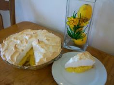 Lemon Meringue Pie...the only pie I really love!