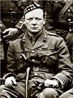 Winston Churchill served with the Scots Fusiler Guards in WWI. .....The 1/6th Bn Royal Scots Fusiliers get a new Commanding Officer - On this day in Scottish Military History - 06 May 1916