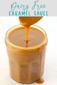 Dairy Free Caramel Sauce   Kids Eat by Shanai