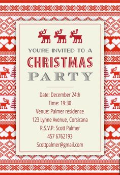 Free Christmas Party Templates Invitations Pleasing Holiday Party Invite Templates  Google Search  Work Stuff .