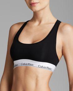 Calvin Klein Underwear Bralette - Modern Cotton #F3785 | Bloomingdale's