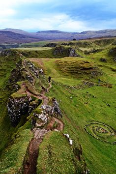 Fairy Glen, Isle of Skye. For a description of the walk through this area, check out this site: http://www.walkhighlands.co.uk/skye/fairyglen.shtml