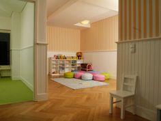 beadboard.de Wandverkleidung in der Marienkäfer Kindervilla München - eine Kita zum Wohlfühlen!