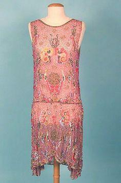 Evening dress, 1920's.