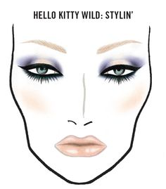 FOTD: MAC Hello Kitty Wild Stylin' Makeup Look - Makeup For Life - Beauty