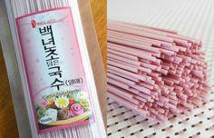 pink cactus noodles