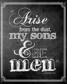 Arise and Be Men