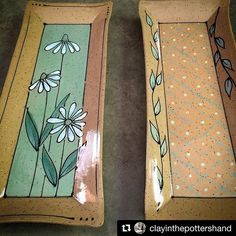A while back we posted an image of these platters by @clayinthepottershand…