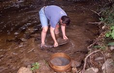Places to Pan for Gold in Missouri