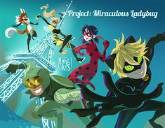 """lilyvzs: """" Miraculous Calendar Project Cover!! I can finally share this piece I did a few months ago. You can find the whole thing here : Calendar and don't forget to take a look at @project-ml for all kinds of goodies! """""""