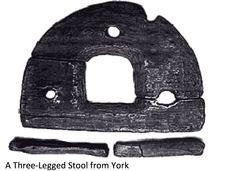 Viking stool from York