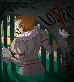 I'm constantly think about if he feels lonely. It sure looks like he does here. Poor Pennywise