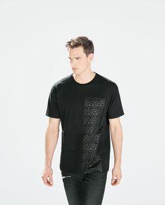 GEOMETRIC PRINT T-SHIRT-T-shirts-T-shirts-MAN | ZARA Philippines