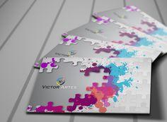Comunicação Visual  Cartões de Visitas