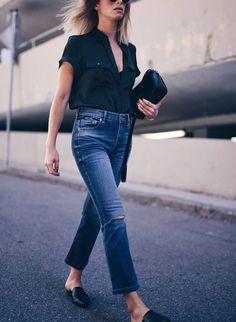 Pinterest : comment porter son jean à la rentrée ?   Glamour