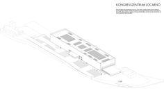 Kongresszentrum Locarno - Perspektive -Alex Pop, Ralf Mensing, Marius Weber Pop, Architecture, Locarno, Centre, Perspective Photography, Arquitetura, Popular, Pop Music, Architecture Illustrations